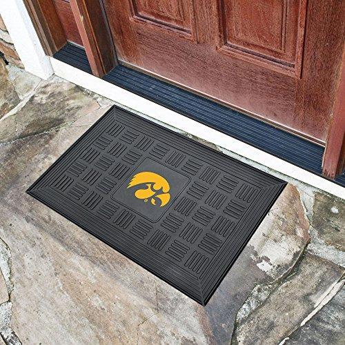 FANMATS NCAA University of Iowa Hawkeyes Vinyl Door Mat