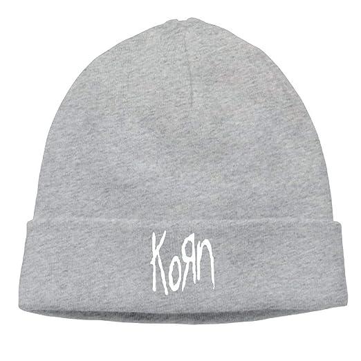Feiye Mens Korn Metal Band Logo Beanie Hat Winter Warm Skull Cap at Amazon  Men s Clothing store  0fa186cff53