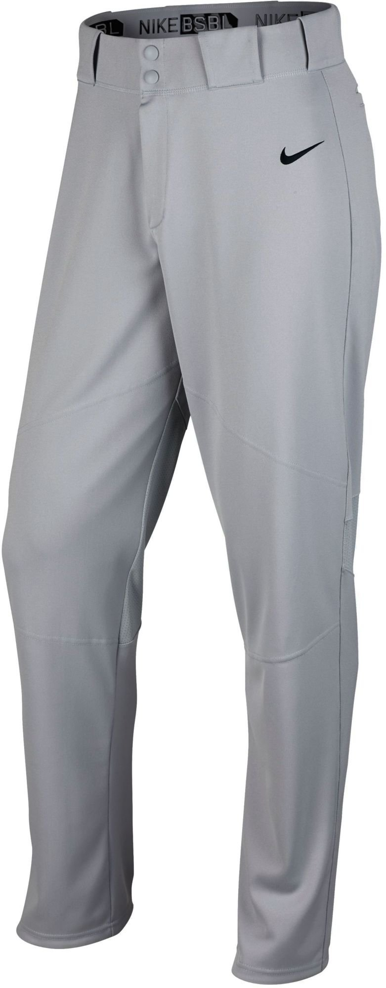 Nike Boys' Pro Vapor Baseball Pants (X-Small, Gray) by Nike