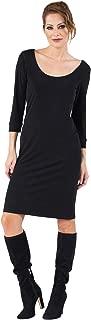 product image for Eva Varro Women's 3/4 SLV Scoop Neck Dress