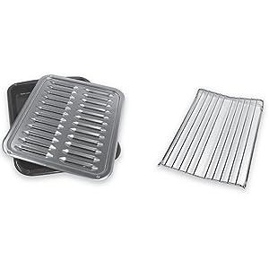 Whirlpool W10123240 Premium Broil Pan and Roasting