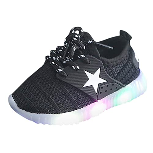 LED Light Up Boys Girls Luminous Sneakers Kids Children Casual Shoes Trainers