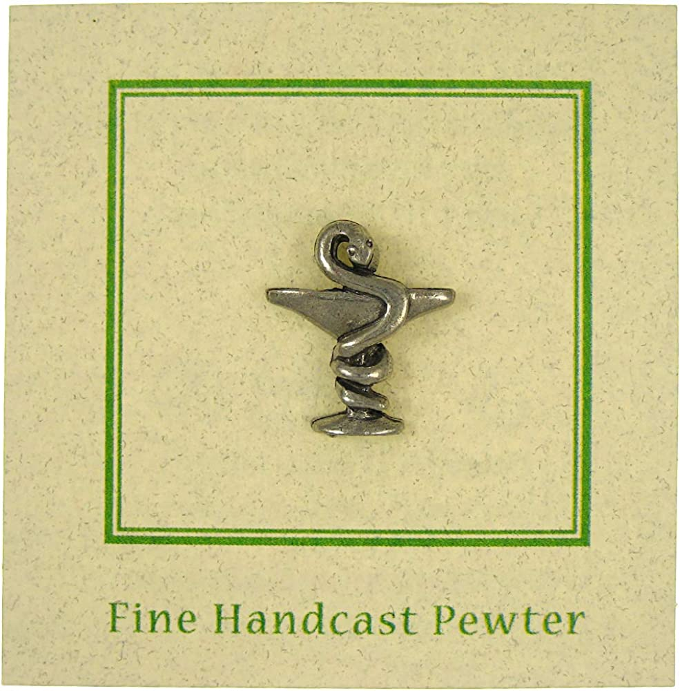 Jim Clift Design Cup of Hygieia Lapel Pin