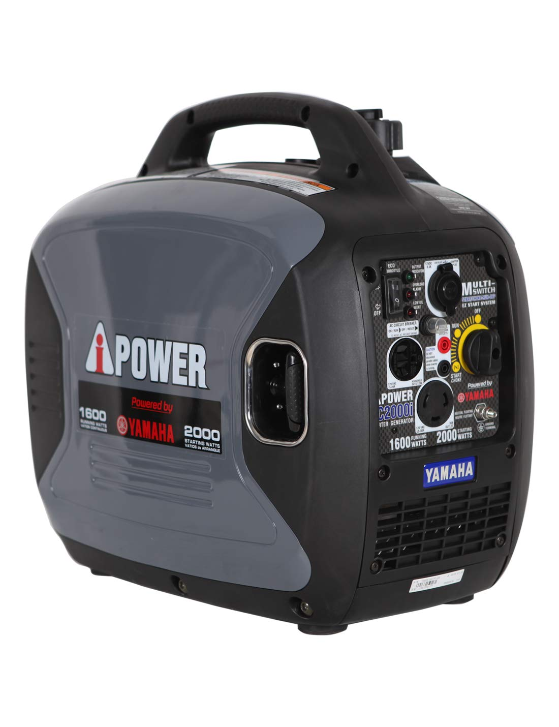 Yamaha Engine Inverter Generator 2000 Watt 120 V Super Quiet CARB EPA Complied SC2000iV_RFB Renewed