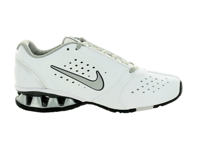 Nike REAX Women's US Size 6.5 Rockstar Trainer Running Shoe White/Silver Leather