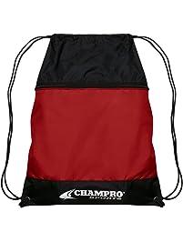 Champro Drawstring Bag w Zipper Pocket db260825b5652
