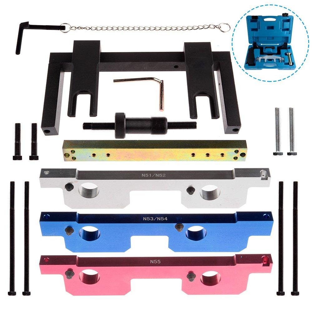 SCITOO Fit BMW N51 N52 N53 N54 N55 New Camshaft Crankshaft Timing Locking Master Tool Kit Timing Chain by SCITOO (Image #2)