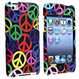 Fosmon Snap On Hard Protector Case Cover for iPod Touch 4th Generation - Peace Sign Design