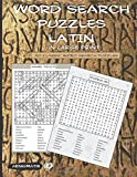 Word Search Puzzles - Latin (in large print)