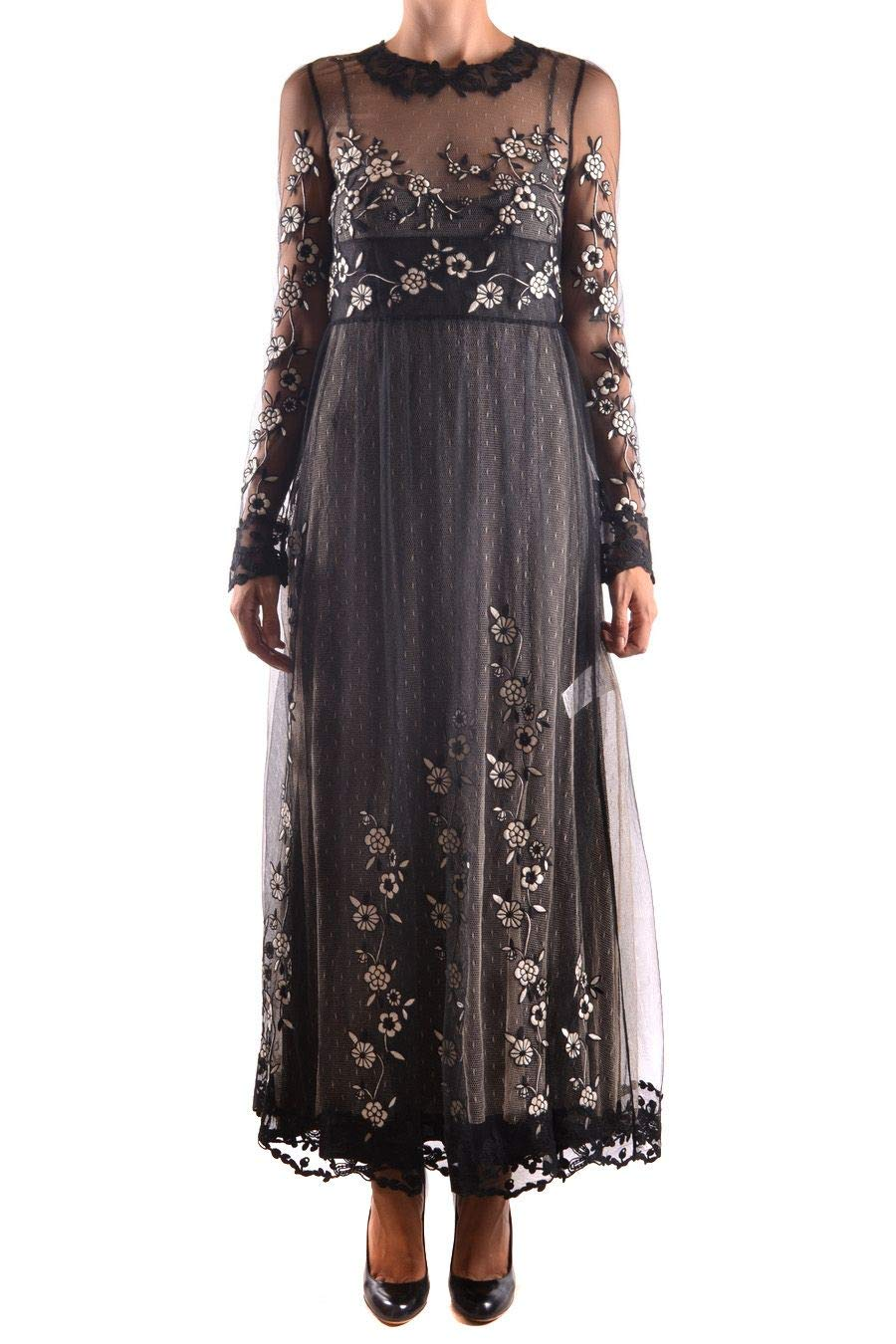 - Red Valentino Women's NR3VA06T33A0NA Black Polyester Dress