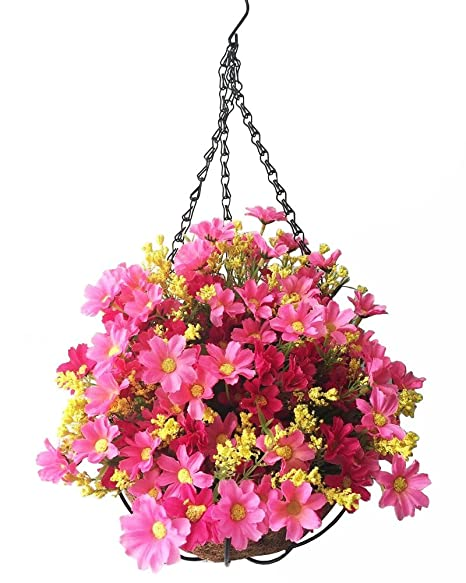 Amazon Lopkey Artificial Daisy Flowers Outdoor Indoor Patio