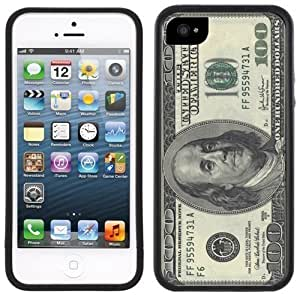 100 Dollar Bill American USA Currency Handmade iPhone 5C Black Case by kobestar