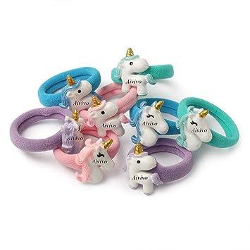 8Pcs Cute Animal Fruit Hairband Kids Hair Accessories Baby Girl Hair Rope