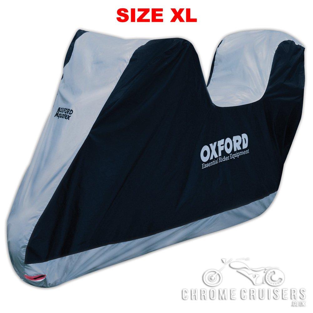 Oxford Motorbike Motorcycle Aquatex Large with Top Box CV205
