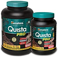 Himalaya Quista Pro Advanced Whey Protein Powder - 2 kg (Chocolate) & Himalaya Quista Pro Advanced Whey Protein Powder - 1kg (Chocolate)