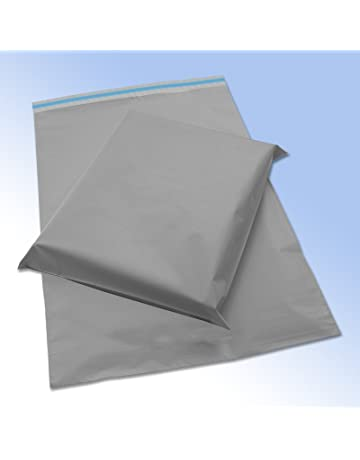 10 Grey Plastic Mailing Mail Post Postage Bags 17 x 24 9ec29dc6460e9