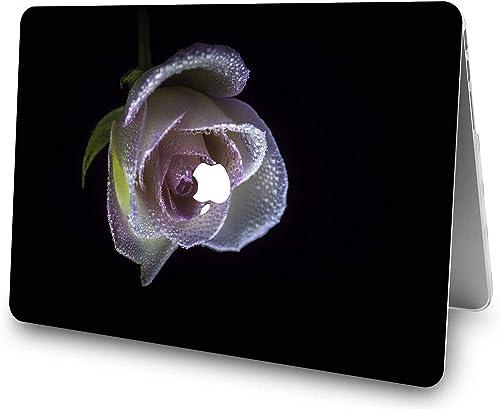 NEWCENT Neues MacBook Pro 13 Hulle Kunststoff Ultra Dunn Leicht Harter Fall EU Tastaturabdeckung fur Mac Pro 13 Zoll mit Touch Bar 2020 Release Modell A2338 M1 A2289 A2251 Rose Serie 0214