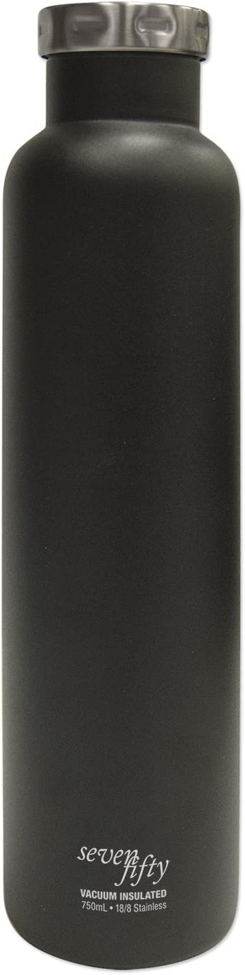 Seven Fifty Pinot Noir Vacuum-Insulated Stainless Steel Wine Growler - 750 mL Capacity