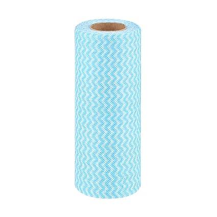Paños de limpieza desechables de un rollo, paños de cocina, toallas multiusos, absorbentes