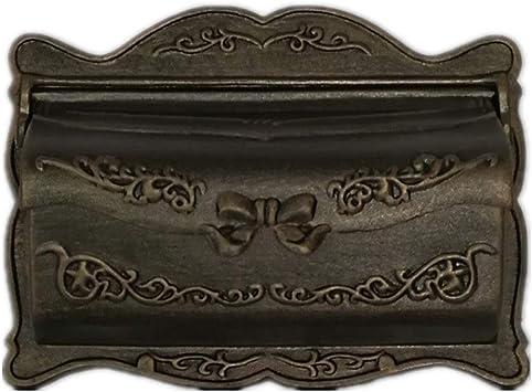 DS-Casilla de correo Buzón - Metal, pequeña caja de buzón a prueba ...
