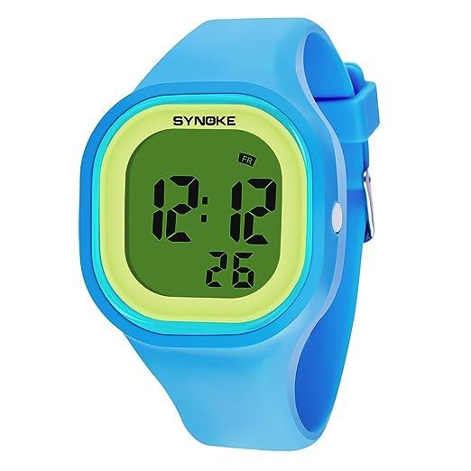 HWCOO Relojes De Pulsera Mujer Niños Reloj Deportivo Reloj Militar Reloj de Vestir Reloj Smart Reloj