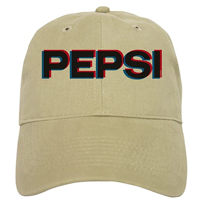 f743555cb953e Amazon.com  CafePress Pepsi Varsity Logo - Baseball Cap With Adjustable  Closure