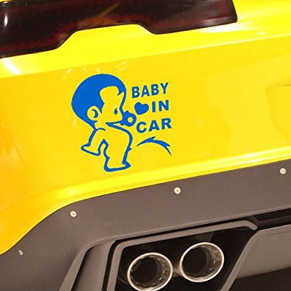 Amazon.com: boddenly bebé Pissing on board de coche Panel de ...
