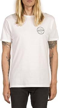 Volcom On Lock BSC SS Camiseta de Manga Corta, Hombre, Blanco, S: Amazon.es: Deportes y aire libre