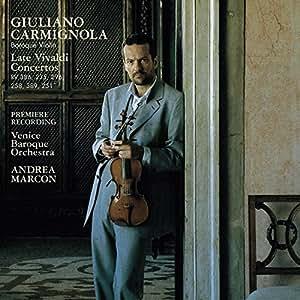 Late Vivaldi Concertos: RV386 / RV235 / RV296 / RV258 / RV389 / RV251 - Giuliano Carmignola / Venice Baroque Orchestra / Andrea Marcon