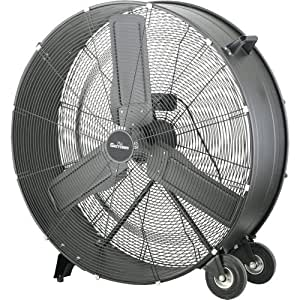 Garrison 2477838 2-Speed Direct Drum Fan with 15400 CFM, 36""