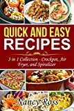 Free eBook - Quick and Easy Recipes  3 in 1 Collection