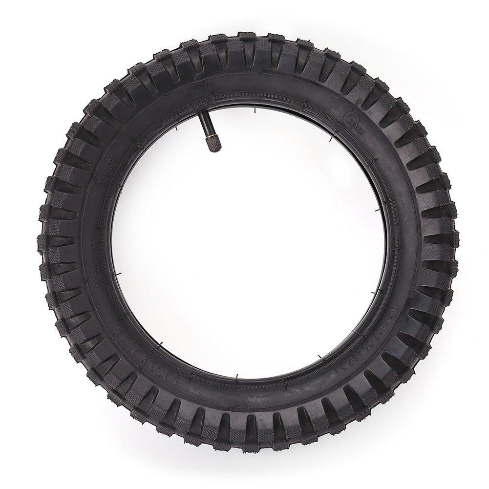 LotFancy 12.5 x 2.75 Tire & Inner Tube Set for Razor Electric Dirt Bike MX350 MX400, X-Treme X-560 - Heavy Duty Scooter Tire Tube for Mini Pocket Bikes
