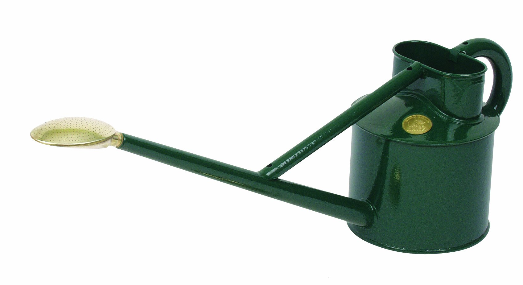 Haws Professional Metal Watering Can, 0.9-Gallon/3.5-Liter, Green