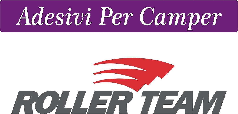 2 pegatinas de 58 x 15 cm con logo para caravana, roller team ...