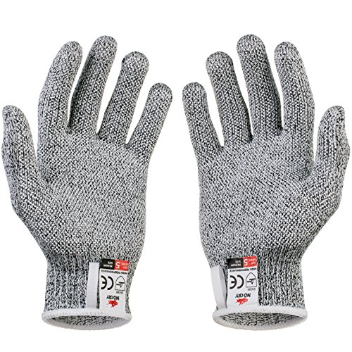 Nocry Cut Resistant Gloves With Grip Dots High