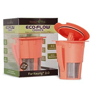 Perfect Pod Eco-Flow Carafe Reusable K-Carafe Filter
