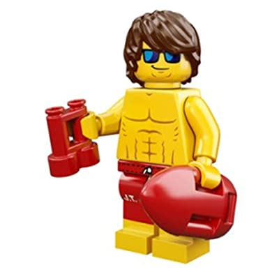 LEGO Series 12 Collectible Minifigure 71007 - Lifeguard Guy: Toys & Games