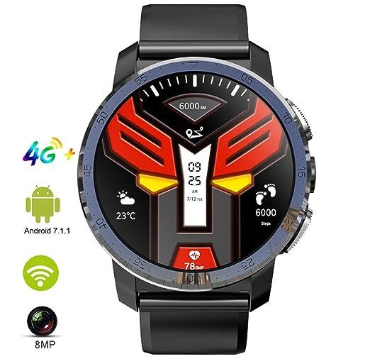 ACZZ Reloj inteligente con Mtk 6739 3Gb + 32Gb, 4G Smartwatch ...