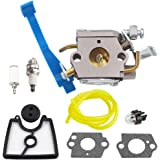 Venseri C1Q-W37 545081811 Carburetor for Husqvarna 125B 125BX 125BVX Leaf Blower Trimmer Zama C1Q-W37 Carb 545 08 18-11 581798001 545081811 545112101