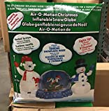 Air-O-Motion Christmas Inflatable Snowglobe