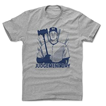 e56de2aea 500 LEVEL Aaron Judge Cotton Shirt XXX-Large Heather Gray - New York  Baseball Men's