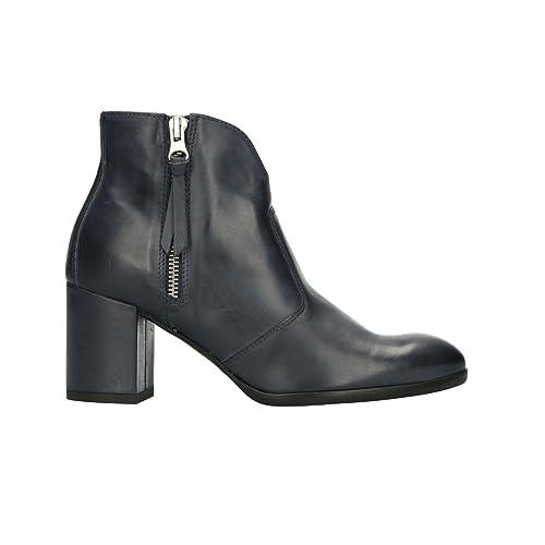 NERO GIARDINI Polacchini scarpe donna blu 5162 mod. P805162D