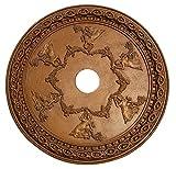 Hickory Manor House Grecian Ceiling Medallion/Bronze