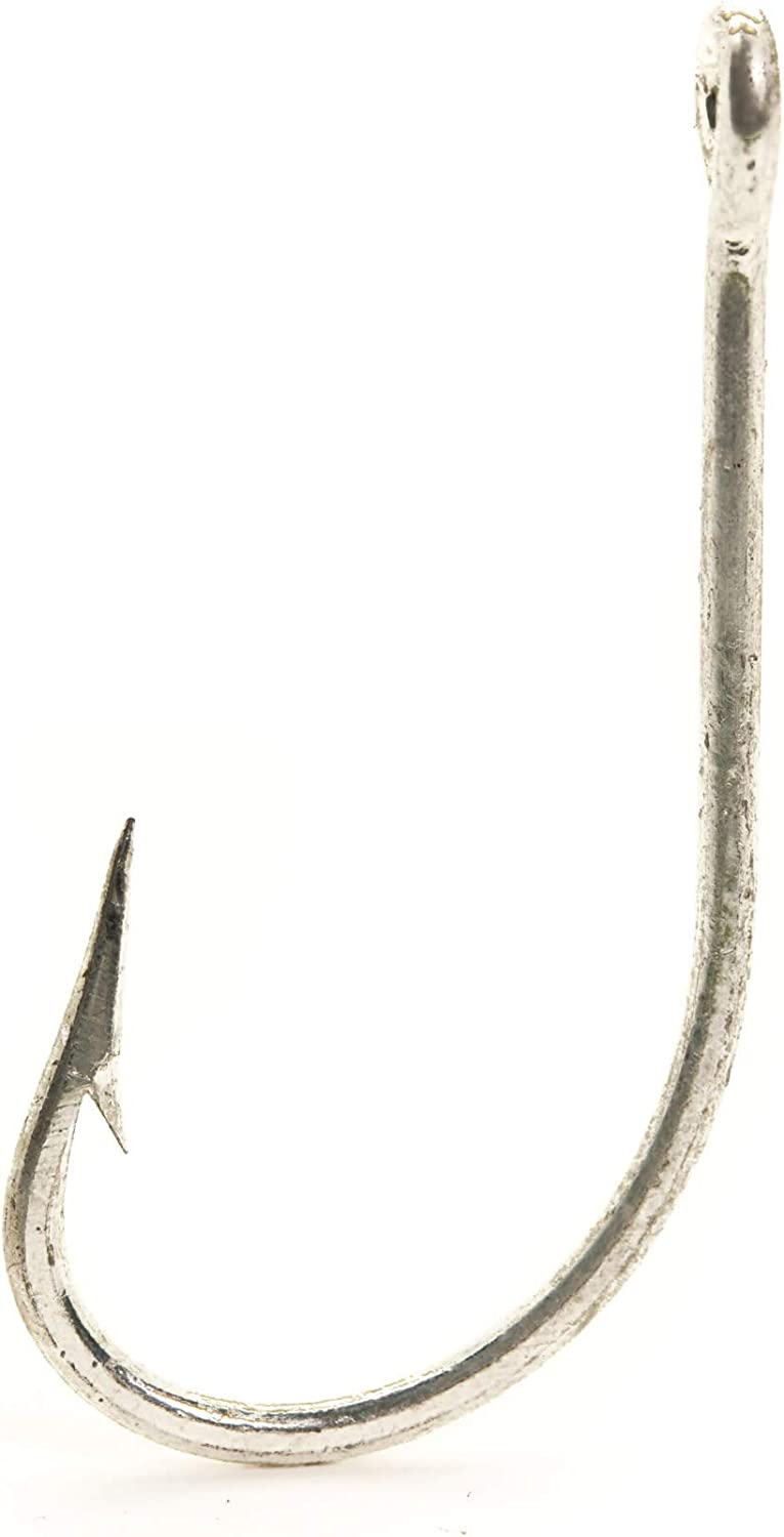 Mustad Classic Forged Duratin Tarpon Hook with Extra Short Shank (Pack of 100), 7/0
