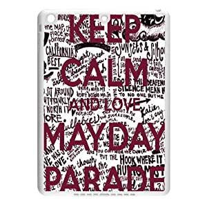 CTSLR Band Mayday Parade Protective TPU Case Cover Skin for iPad Air - 1 Pack - Black/White - 5