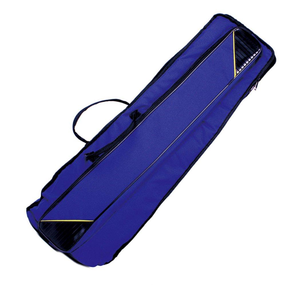 Jili Online Oxford Fabric Shoulder Bag Tenor Trombone Stage Bag for Trombonist Blue by Jili Online (Image #9)
