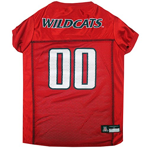 Pets First Collegiate University of Arizona Wildcats Dog Mesh Jersey, X-Large