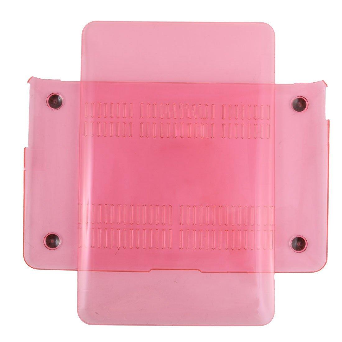 Amazon.com: eDealMax plástico Inicio del ordenador portátil Anti-polvo de Shell Duro funda protectora de Color de rosa Caliente Para MacBook Air DE 11 ...