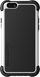 Ballistic iPhone 6 4.7-Inch Tough Jacket Maxx Case with Holster - Retail Packaging - Black/White