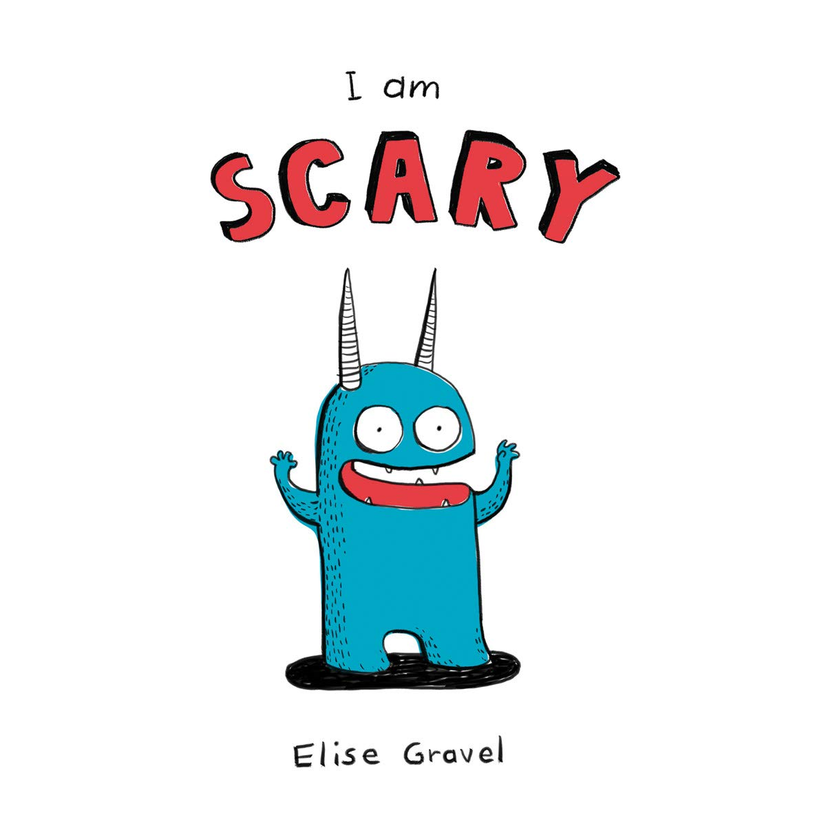 Best Childrens Books 2020.Review I Am Scary By Elise Gravel 2020 Readers By Night
